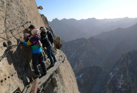 World's Scariest Hikes That Will Knock Your Socks Off…