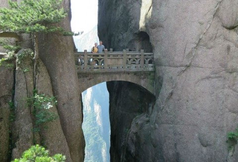 """Do you have the courage to walk across the """"Bridge of the Immortals""""?"""