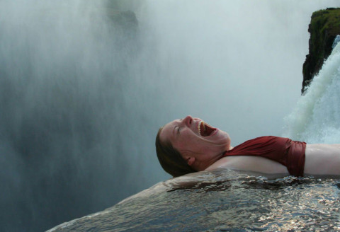 Swimming in the Most Dangerous Natural Pool in the World [VIDEO]