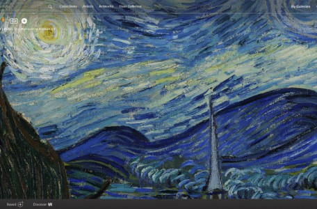 Google Art Project - The Starry Night by Vincent van Gogh